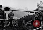 Image of German soldiers Carpathian Mountains Europe, 1944, second 27 stock footage video 65675020582