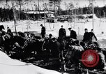 Image of German ski troops in World War 2 Finland, 1943, second 9 stock footage video 65675020588