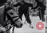 Image of German ski troops in World War 2 Finland, 1943, second 18 stock footage video 65675020588