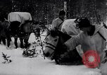Image of German ski troops in World War 2 Finland, 1943, second 23 stock footage video 65675020588