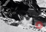 Image of German ski troops in World War 2 Finland, 1943, second 29 stock footage video 65675020588