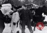 Image of German ski troops in World War 2 Finland, 1943, second 45 stock footage video 65675020588