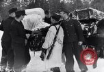Image of German ski troops in World War 2 Finland, 1943, second 46 stock footage video 65675020588