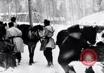 Image of German ski troops in World War 2 Finland, 1943, second 48 stock footage video 65675020588