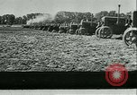 Image of tractors and plows France, 1942, second 17 stock footage video 65675020604