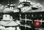 Image of German army officers visit Monastery on Mount Athos Greece, 1944, second 18 stock footage video 65675020617