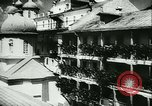 Image of German army officers visit Monastery on Mount Athos Greece, 1944, second 19 stock footage video 65675020617