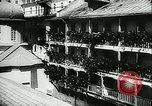Image of German army officers visit Monastery on Mount Athos Greece, 1944, second 20 stock footage video 65675020617
