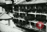 Image of German army officers visit Monastery on Mount Athos Greece, 1944, second 21 stock footage video 65675020617