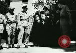 Image of German army officers visit Monastery on Mount Athos Greece, 1944, second 25 stock footage video 65675020617