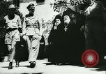 Image of German army officers visit Monastery on Mount Athos Greece, 1944, second 26 stock footage video 65675020617