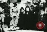 Image of German army officers visit Monastery on Mount Athos Greece, 1944, second 27 stock footage video 65675020617