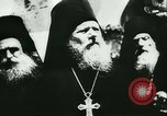 Image of German army officers visit Monastery on Mount Athos Greece, 1944, second 30 stock footage video 65675020617