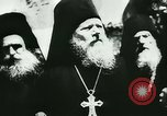 Image of German army officers visit Monastery on Mount Athos Greece, 1944, second 31 stock footage video 65675020617