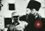 Image of German army officers visit Monastery on Mount Athos Greece, 1944, second 33 stock footage video 65675020617
