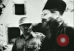 Image of German army officers visit Monastery on Mount Athos Greece, 1944, second 34 stock footage video 65675020617
