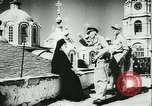 Image of German army officers visit Monastery on Mount Athos Greece, 1944, second 48 stock footage video 65675020617