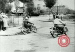 Image of Motorcycle race Bucharest Romania, 1943, second 9 stock footage video 65675020619
