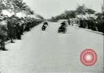 Image of Motorcycle race Bucharest Romania, 1943, second 13 stock footage video 65675020619