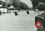 Image of Motorcycle race Bucharest Romania, 1943, second 16 stock footage video 65675020619