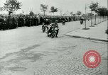 Image of Motorcycle race Bucharest Romania, 1943, second 20 stock footage video 65675020619