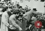 Image of Motorcycle race Bucharest Romania, 1943, second 31 stock footage video 65675020619