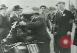 Image of Motorcycle race Bucharest Romania, 1943, second 40 stock footage video 65675020619