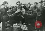 Image of Motorcycle race Bucharest Romania, 1943, second 42 stock footage video 65675020619