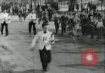 Image of Cafe waiters Madrid Spain, 1942, second 20 stock footage video 65675020633