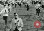 Image of Cafe waiters Madrid Spain, 1942, second 21 stock footage video 65675020633