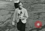 Image of Cafe waiters Madrid Spain, 1942, second 22 stock footage video 65675020633