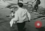 Image of Cafe waiters Madrid Spain, 1942, second 28 stock footage video 65675020633