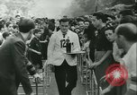Image of Cafe waiters Madrid Spain, 1942, second 29 stock footage video 65675020633