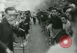 Image of Cafe waiters Madrid Spain, 1942, second 31 stock footage video 65675020633