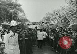 Image of Cafe waiters Madrid Spain, 1942, second 32 stock footage video 65675020633