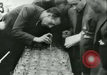 Image of Cafe waiters Madrid Spain, 1942, second 36 stock footage video 65675020633