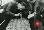 Image of Cafe waiters Madrid Spain, 1942, second 37 stock footage video 65675020633