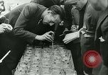 Image of Cafe waiters Madrid Spain, 1942, second 38 stock footage video 65675020633