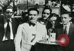 Image of Cafe waiters Madrid Spain, 1942, second 39 stock footage video 65675020633