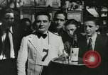 Image of Cafe waiters Madrid Spain, 1942, second 40 stock footage video 65675020633