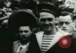 Image of Bastille Day during WW2 Cherbourg Normandy France, 1944, second 16 stock footage video 65675020671