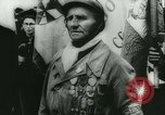 Image of Bastille Day during WW2 Cherbourg Normandy France, 1944, second 21 stock footage video 65675020671