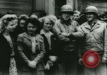 Image of Bastille Day during WW2 Cherbourg Normandy France, 1944, second 38 stock footage video 65675020671