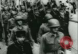Image of Bastille Day during WW2 Cherbourg Normandy France, 1944, second 49 stock footage video 65675020671