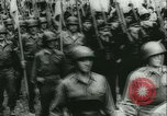 Image of Bastille Day during WW2 Cherbourg Normandy France, 1944, second 50 stock footage video 65675020671