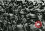 Image of Bastille Day during WW2 Cherbourg Normandy France, 1944, second 56 stock footage video 65675020671