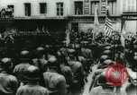 Image of Bastille Day during WW2 Cherbourg Normandy France, 1944, second 57 stock footage video 65675020671