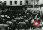Image of Bastille Day during WW2 Cherbourg Normandy France, 1944, second 59 stock footage video 65675020671