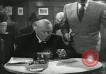 Image of men in bar Germany, 1941, second 19 stock footage video 65675020685
