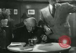 Image of men in bar Germany, 1941, second 20 stock footage video 65675020685